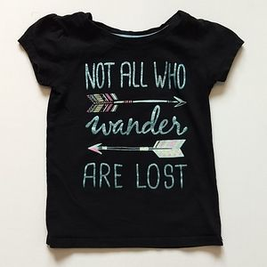Black Arrow T-shirt * Size 4 Toddler